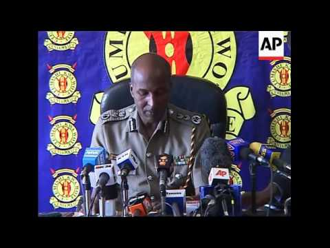 WRAP Police prevent violence btwn Kikuyu and Luo, police briefing ADDS Annan