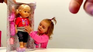 Беби Борн, Baby born кукла распаковка аналог кукла Warm Baby кукла Lovely Sister(, 2017-11-03T00:36:46.000Z)