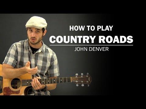 Country Roads (John Denver) | Beginner Guitar Lesson | How To Play