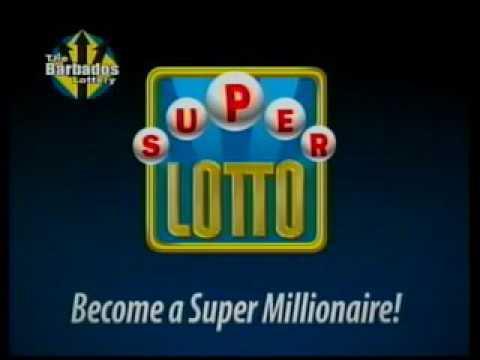 The barbados lottery super lotto