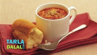 Vegetable And Bean Soup (low Cholesterol Recipe) By Tarla Dalal
