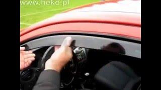 видео Ветровики Clover (Корея) Aveo  ,    хэтчбек (внешние) A068