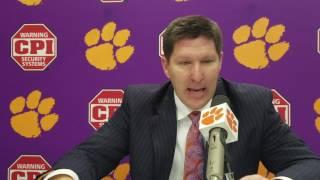 TigerNet.com - Brad Brownell post Syracuse