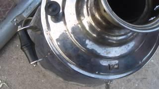 видео самовар угольный дровяной
