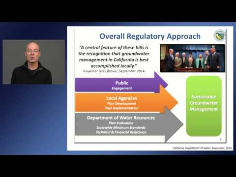 Implementing California's Sustainable Groundwater Management Act of 2014