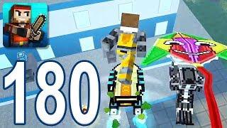 Pixel Gun 3D - Gameplay Walkthrough Part 180 - Battle Royale Win (iOS, Android)