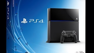 PS4 Unboxing and Closer Look at a Sexy Machine!