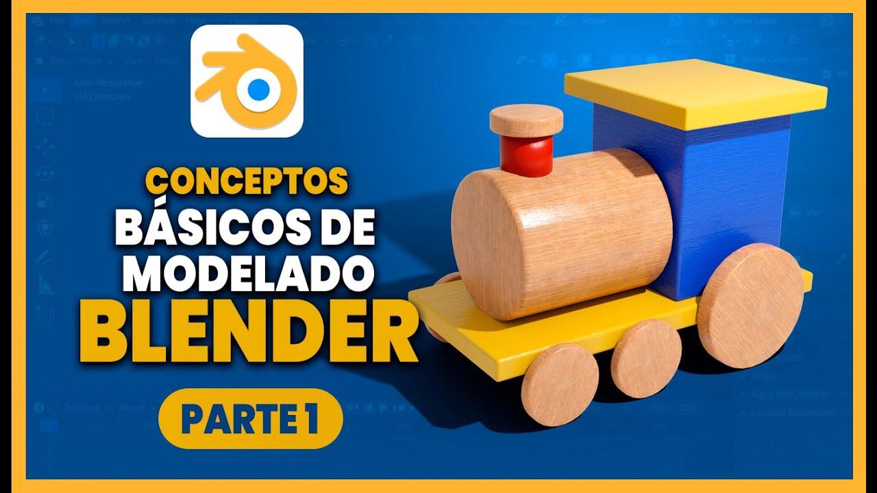 Download Tutorial básico de modelado en BLENDER  😲😲 Aprende modelado fácil en Blender  Español ::: Parte 1 👈