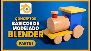 Tutorial básico de modelado en BLENDER   Aprende modelado fácil en Blender  Español ::: Parte 1