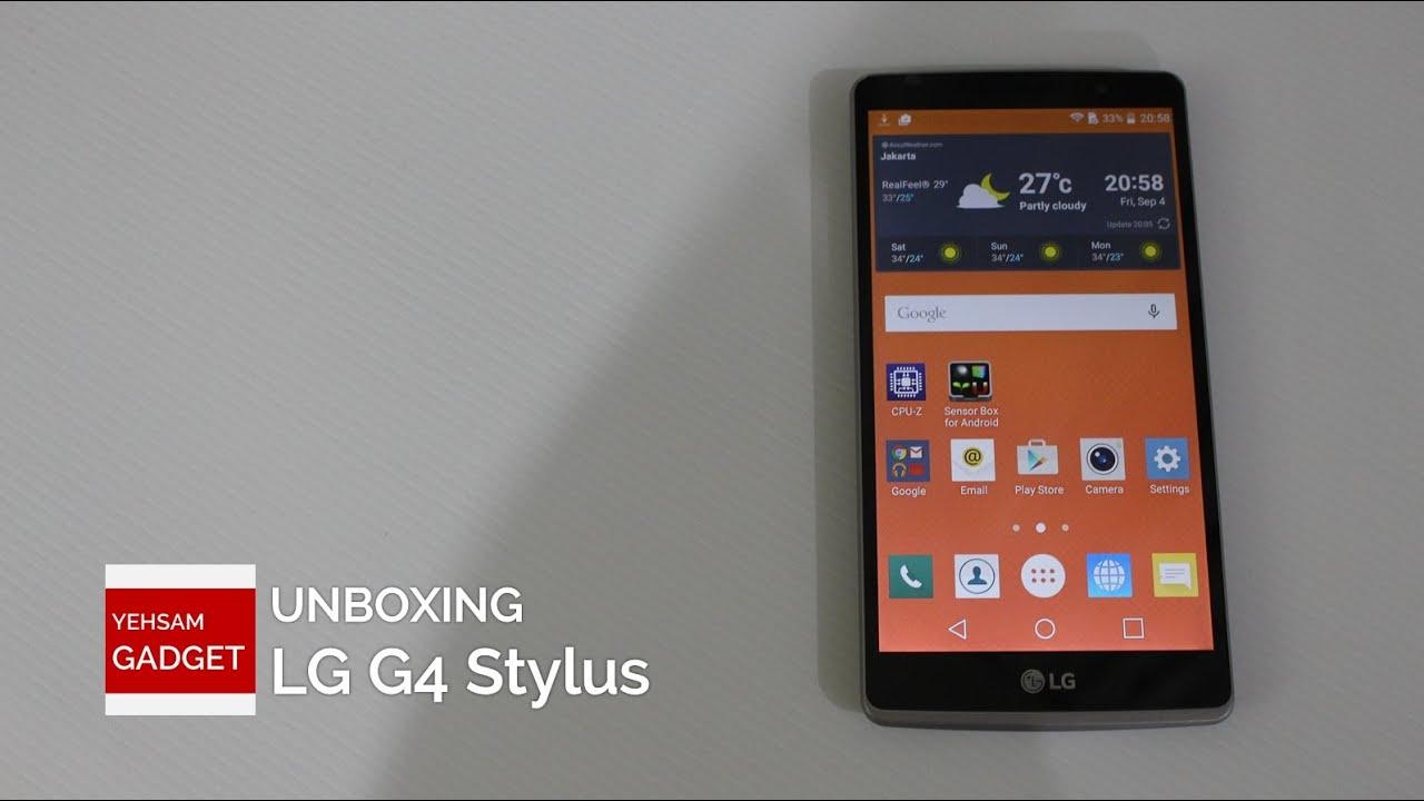 Unboxing LG G4 Stylus INDONESIA