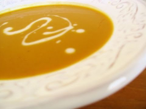 Curried Coconut Butternut Squash Soup Recipe - Healthy Holiday Recipe ...