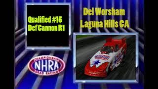 OHRA Sunoco Drag Racing Series Funny Car Pomona Round 2 Eliminations