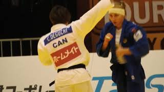 カナダ代表 出口クリスタ 対 ロシア代表 konkina Anastasiia