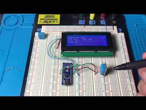 Arduino Sensors: DHT11 Temperature and Humidity Sensor