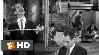 Animal Crackers (8/9) Movie CLIP - You Are A Contemptible Cur! (1930) HD