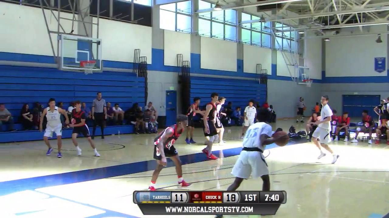 6007c1131 Chuck Hayes Basketball 16U vs NorCal Tarheels 16U FULL GAME LIVe 5 7 ...