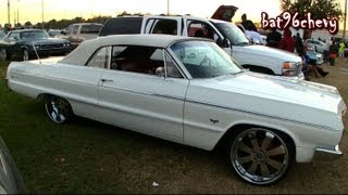 "1964 Chevy Impala SS Convertible on 22"" Forgiatos - 1080p HD"