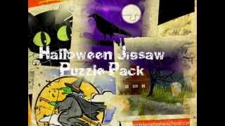 Halloween Printable Jigsaw Puzzles for Kids