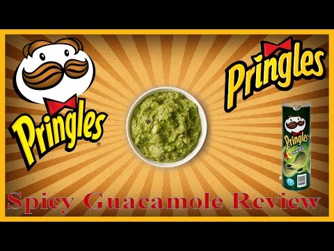♥Limited Time Only Pringles Spicy Guacamole Review♥-Feb 29th 2016