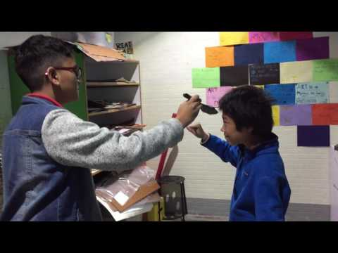 American International School Mannequin Challenge in Art class