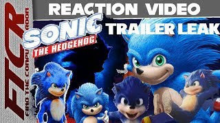 Sonic The Hedgehog Movie Early Trailer Leak Reaction