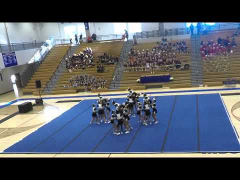 Riverwatch Middle School Competition Cheer - Peachtree Ridge Invitational 10/17/15