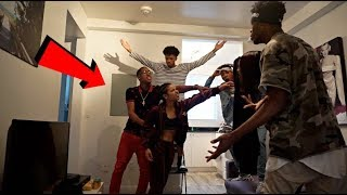 YOU STOLE $200 FROM ME PRANK ON COREY AND CARMEN!!! ( GONE WRONG)
