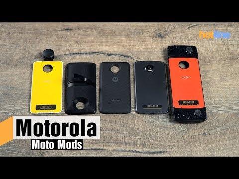 Опыт использования модулей Moto Mods для смартфонов Moto Z от Motorola