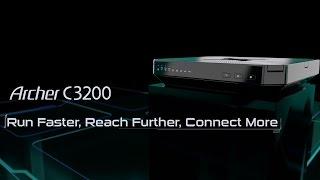 TP-LINK AC3200 Wireless Tri Band Gigabit Router - Archer C3200