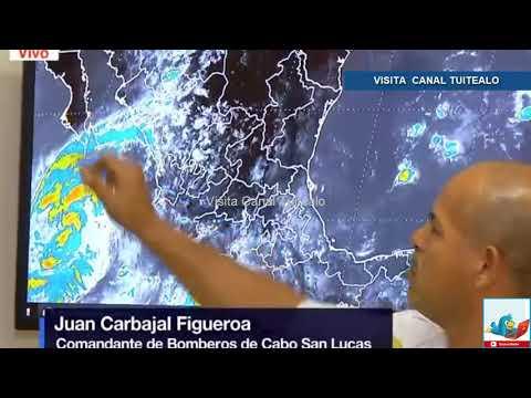 Autoridades de Baja California Sur pendientes ante tormenta tropical 'Norma' Video