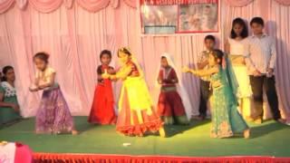 Victory Kinder Garten, Surya city, Chandapura, bangalore -  Hachevu Kannadada Deepa dance.