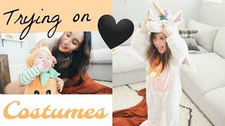 Trying on Target's CUTEST Halloween Costumes!