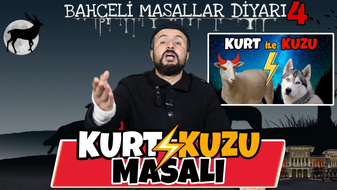 BAHÇELİ MASALLAR DİYARI 4 (Kurt ile Kuzu)
