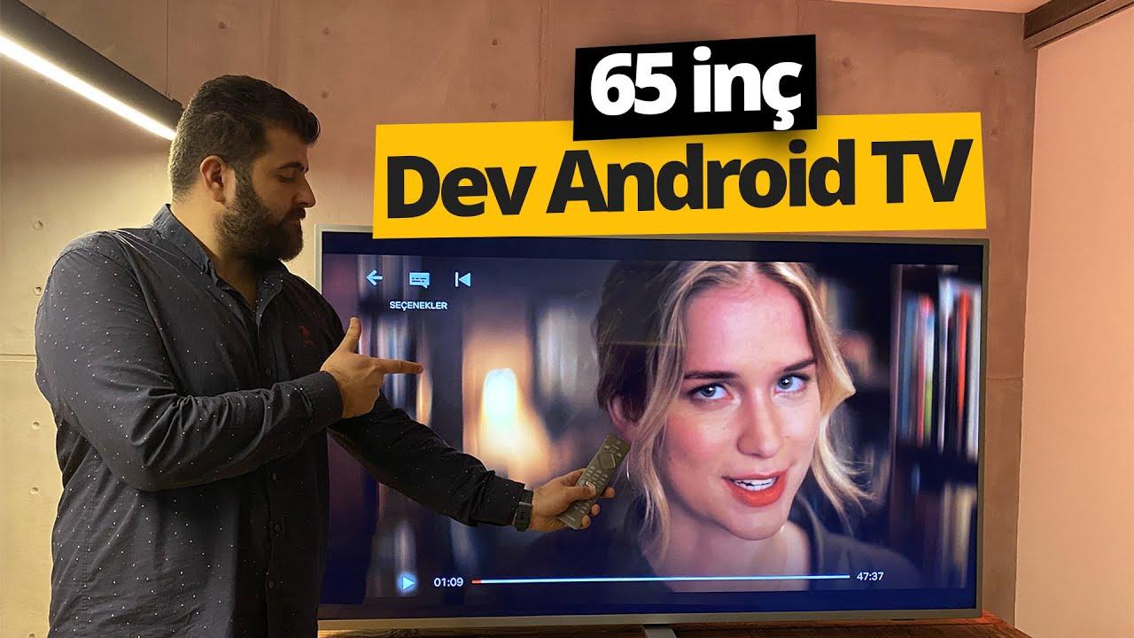 Uygun fiyatlı 65 inç Android TV! Philips The One inceleme