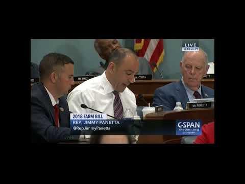 Congressman Panetta Opening Remarks Farm Bill April 18, 2018