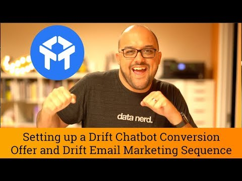 Drift Tutorial: Chatbot Landing Page & Automatic Drift Email Marketing Sequence
