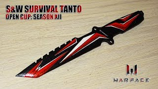 Как сделать S&W Survival Tanto Open Cup: Season XII из дерева? Warface
