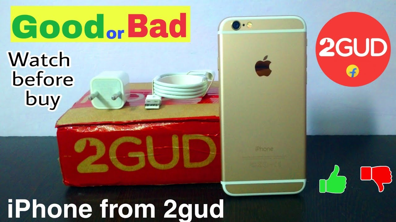 2Gud | Refurbished iPhone 6 Unboxing and review || Technical Spot