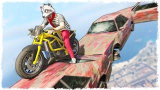 УПАЛ С КИЛОМЕТРОВОЙ ВЫСОТЫ В GTA ONLINE (ЭПИК В ГТА 5) #282(, 2016-09-02T12:59:43.000Z)