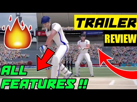 World Cricket Battle Gameplay Trailer REVIEW | Creative Monkey Games