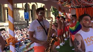 TRIX ON SAX - Gay Pride Manchester