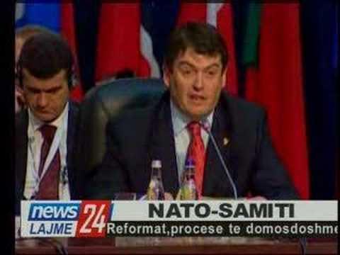 Bamir Topi flet në Samitin e NATO-s