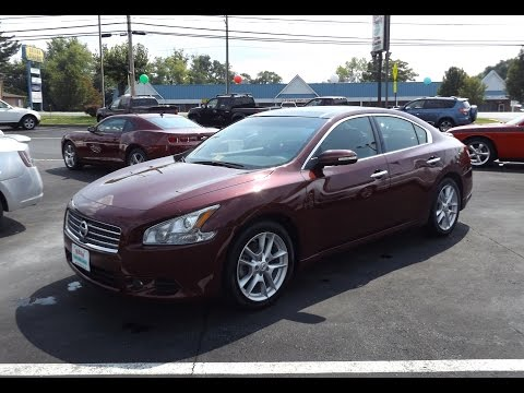 2010 Nissan Maxima SV 3.5L V6 Start Up and Tour