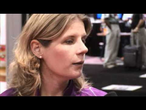 2012 Xtra Frame Extras @ Bowl Expo - Kelly Kulick Interview