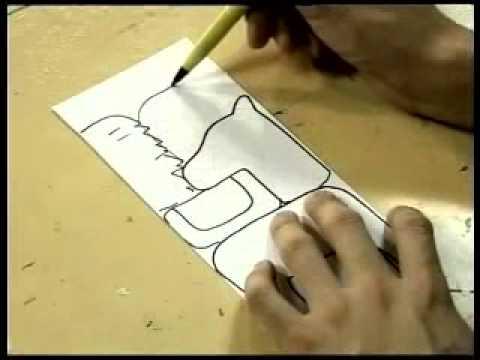 การตัดกระดาษเป็นรูปม้า ในคลังความรู้