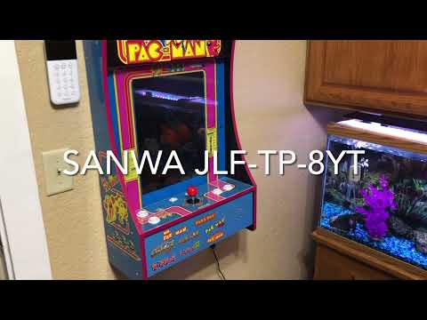 Arcade 1up multi cade SANWA joystick upgrade from David Giordano