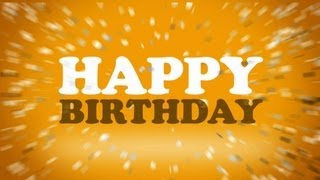 Matt Houston Happy Birthday Lyrics video officiel