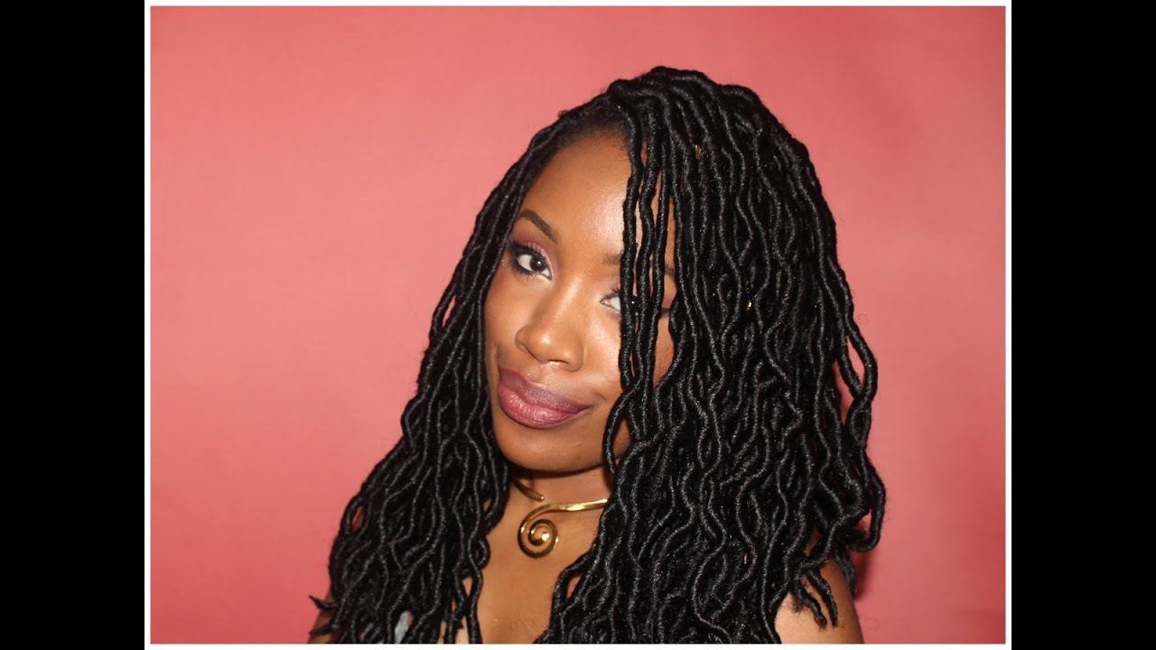Crochet Goddess Faux Locs : How to: Crochet Faux Locs (Install/Initial Review) - YouTube