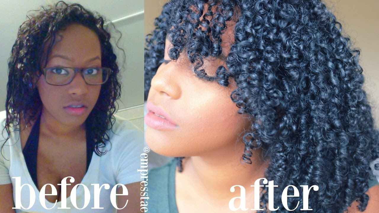 How To Transition To Natural Hair | NO BIG CHOP! | Heat ...