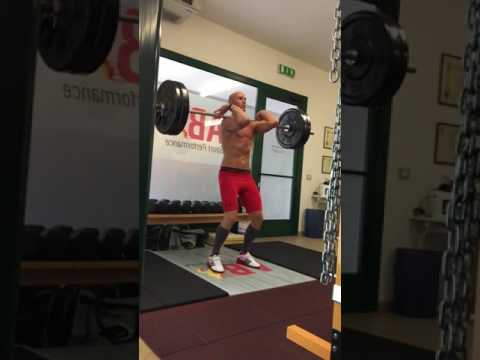 Power Clean at AB Sport Performance